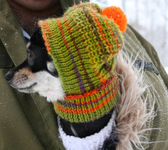 Knitting Pattern Hat Dog : Etsy - Your place to buy and sell all things handmade, vintage, and supplies