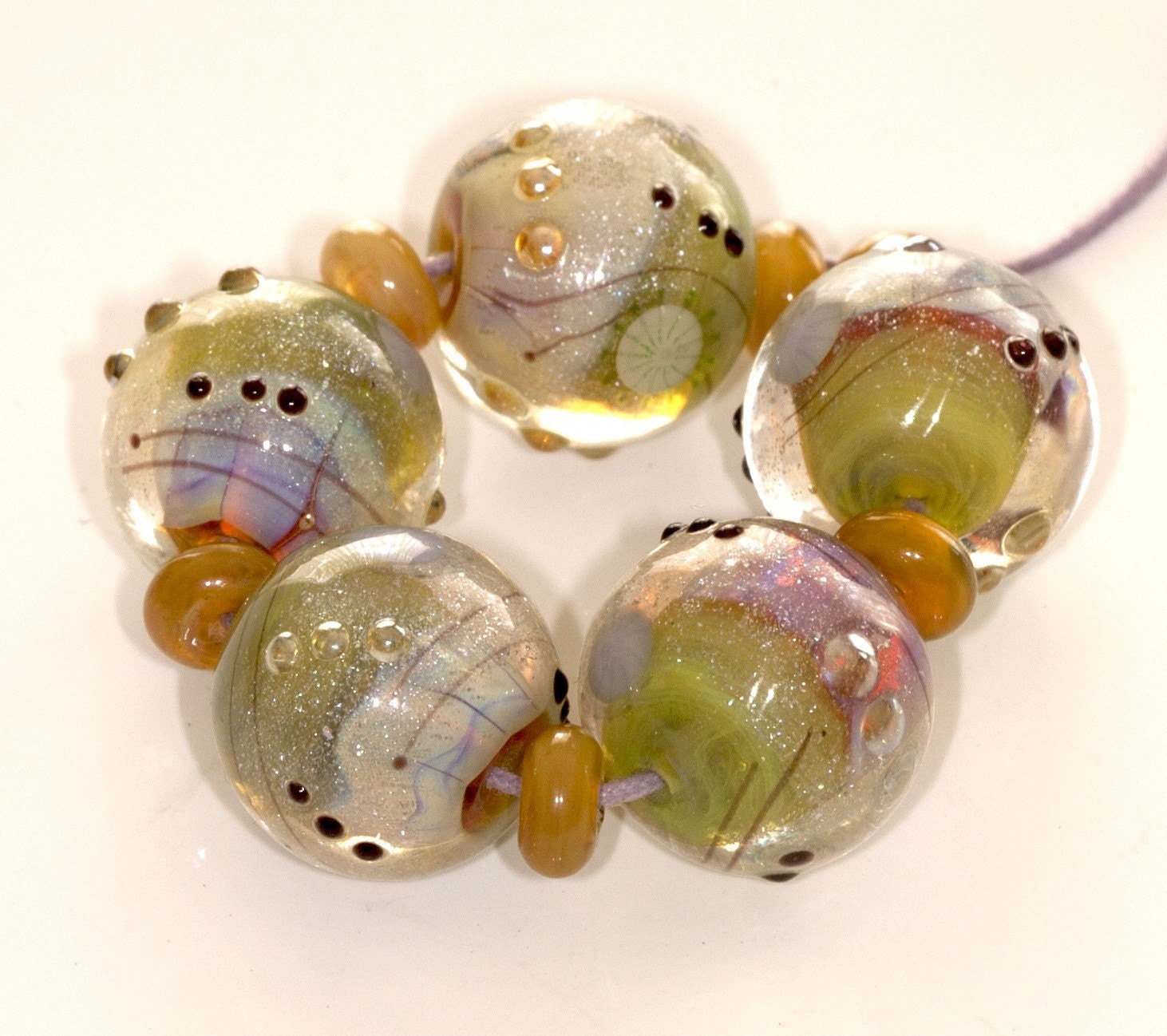 Spring Sparkle Balls (11)- Handmade SRA C96