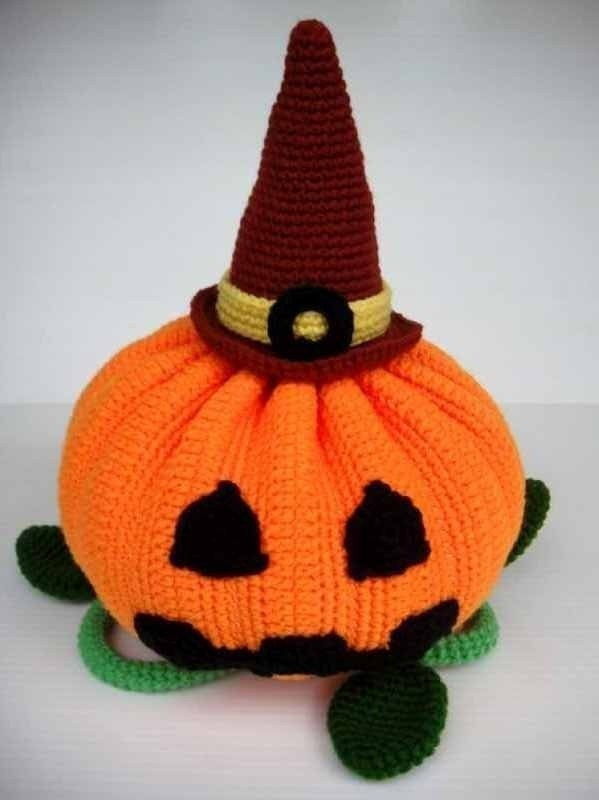 Crochet Pattern - HALLOWEEN PUMPKIN - Toys/ Deco/ Fruit