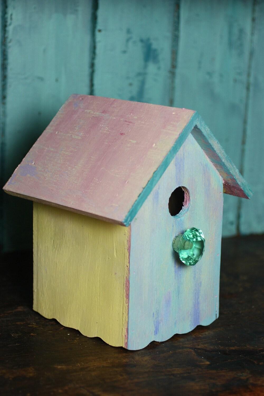 Caribbean Cottage Birdhouse