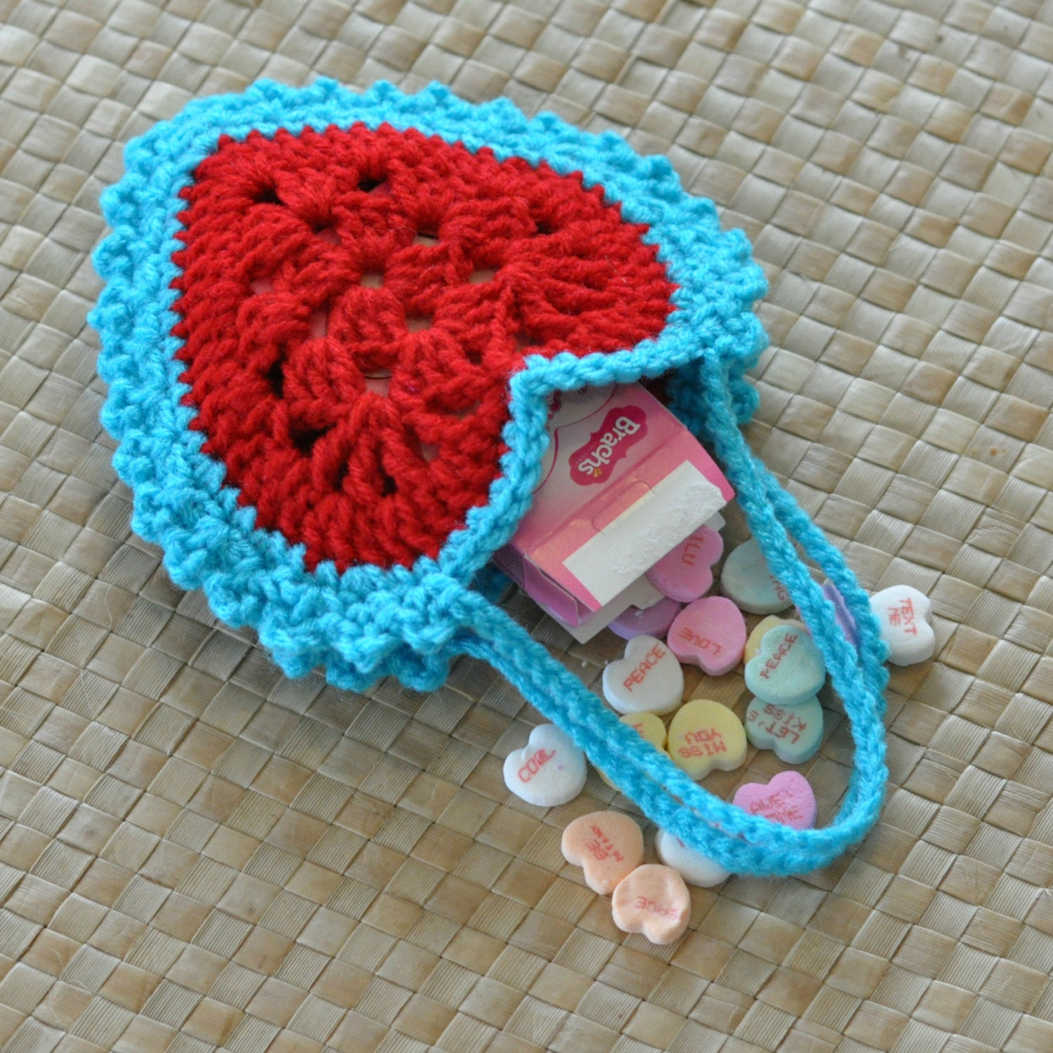 PDF Granny Heart Superstar Hanging Hearts Valentine Crochet Pattern and Free PDF Valentines