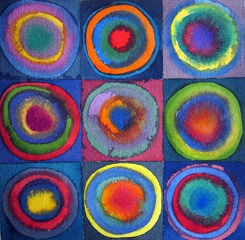 Circles - Giclee Fine Art Print