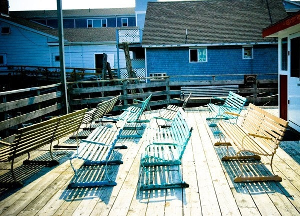 Benches on Boothbay