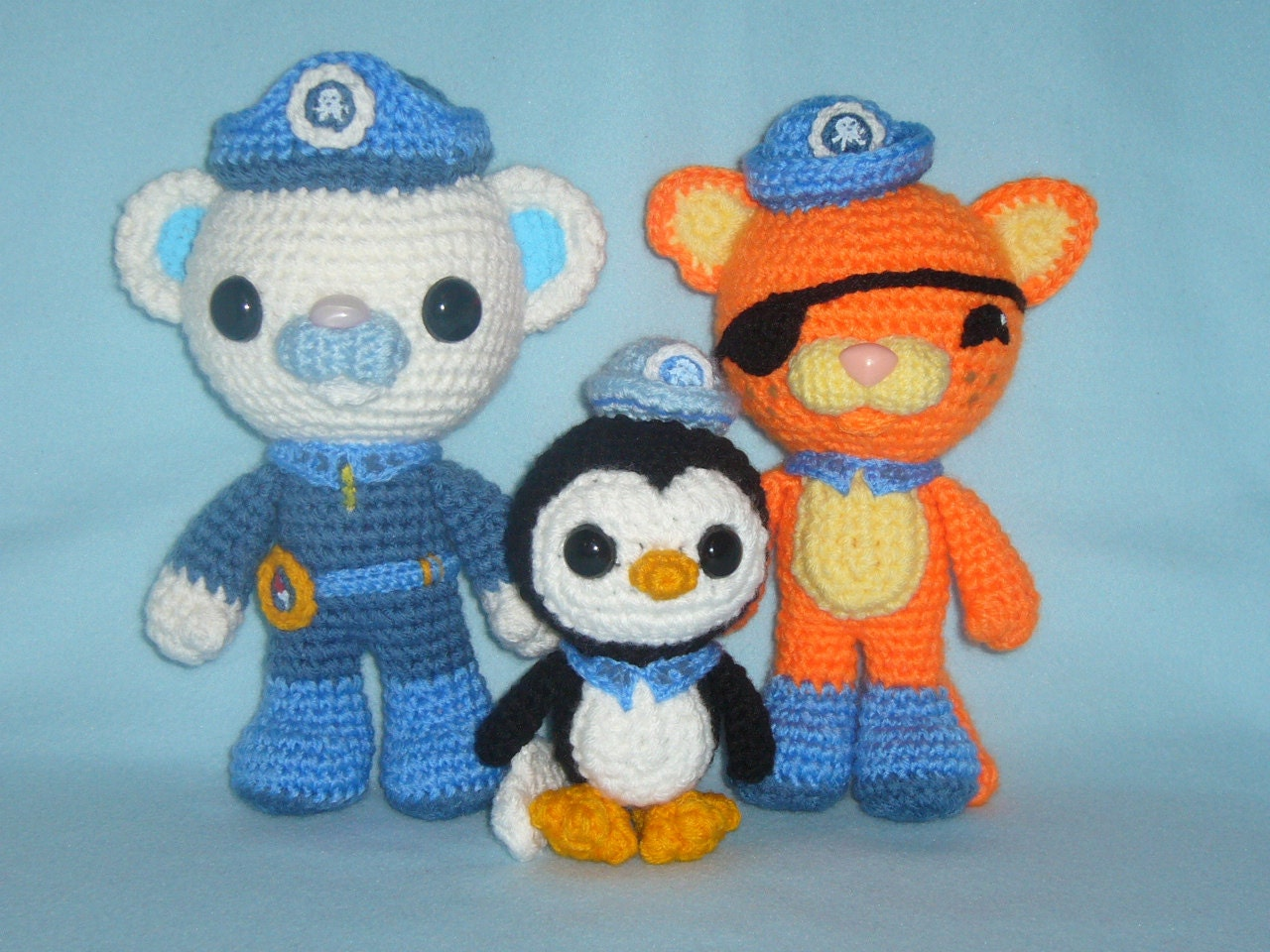 Octonauts team toys crochet patterns PDF by MarinaMandarina