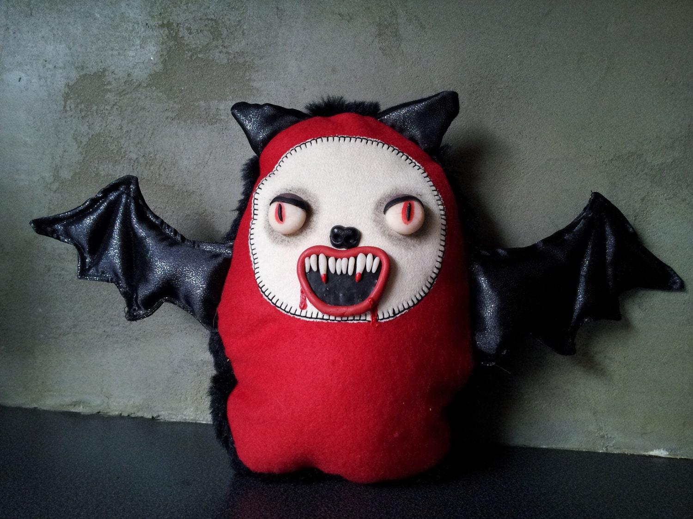 horror softie vampire bat doll - Lilithsshopofhorrors