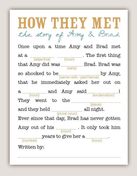picture relating to Funny Wedding Mad Libs Printable titled amusing ridiculous libs