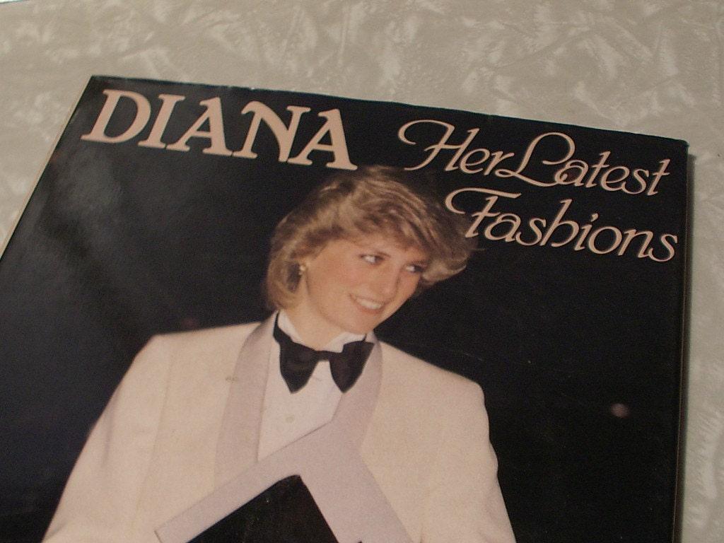 Princess Diana fashion book,