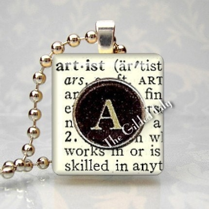 Artist Pendant Necklace