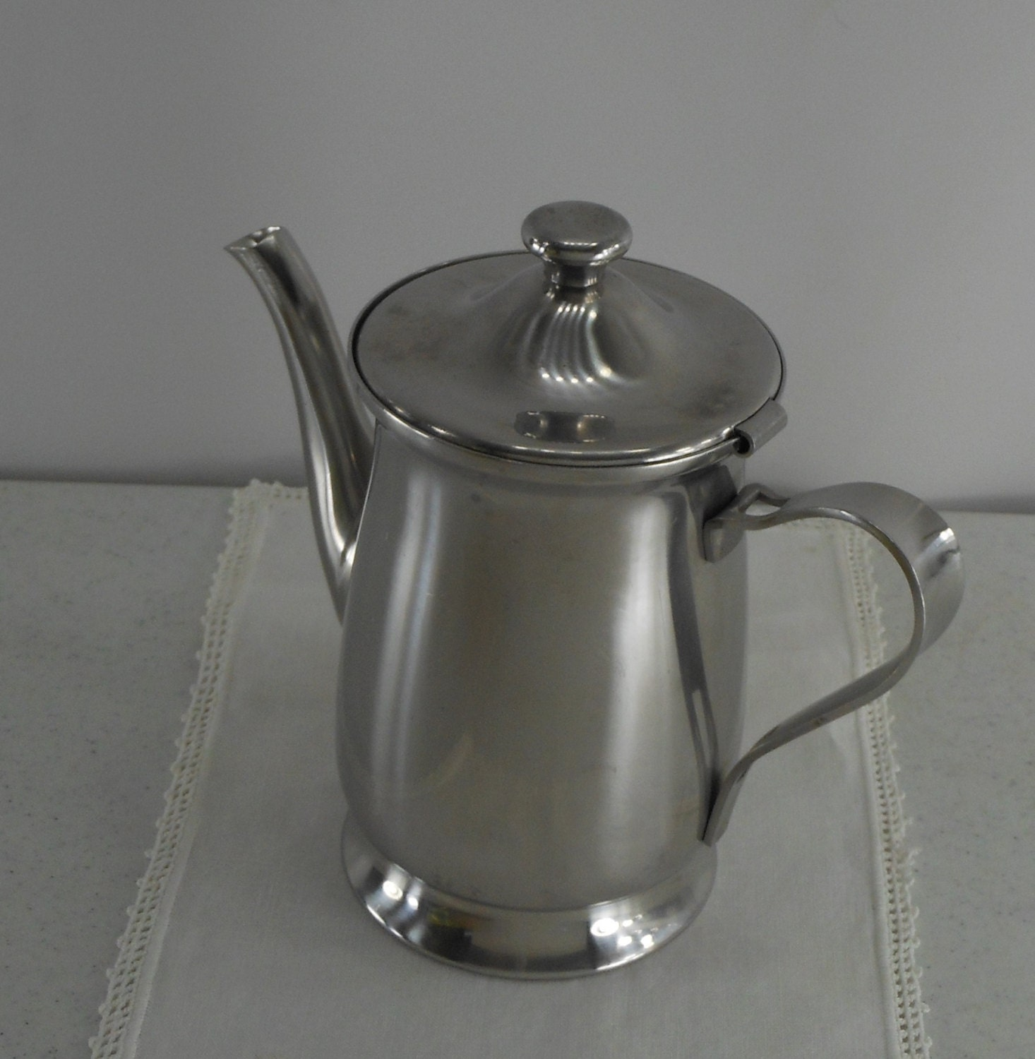 ONEIDA Stainless Coffee Tea Server Pot Japan by PatziPlace on Etsy