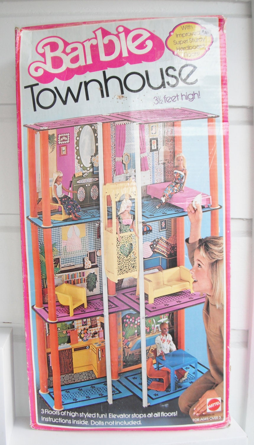 Vintage Barbie Dream House 1980 For Sale Wroc Awski