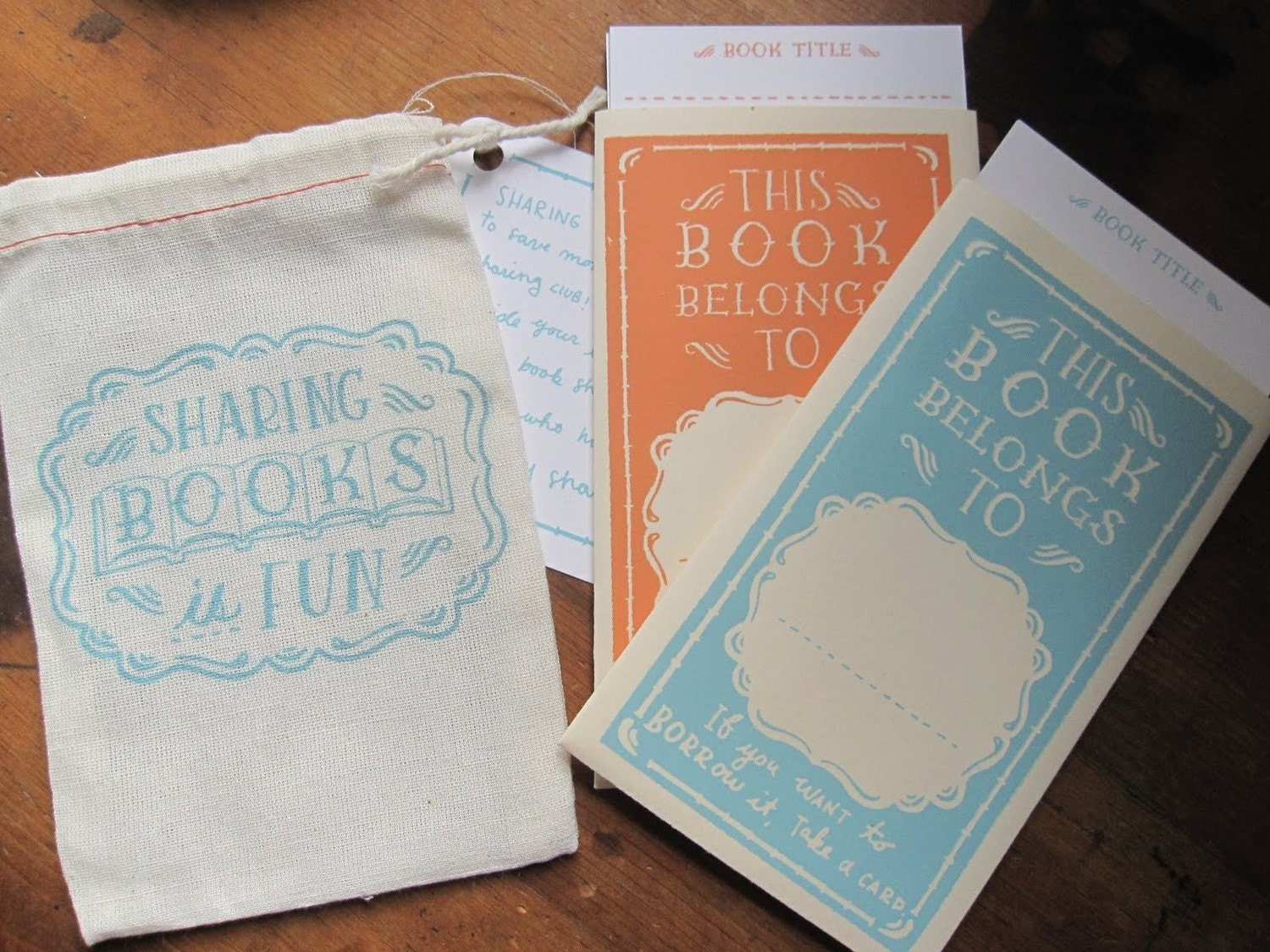 Personal Library Bookplates