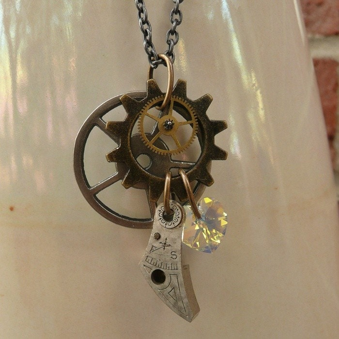 Tragic Adornments Steampunk Necklace