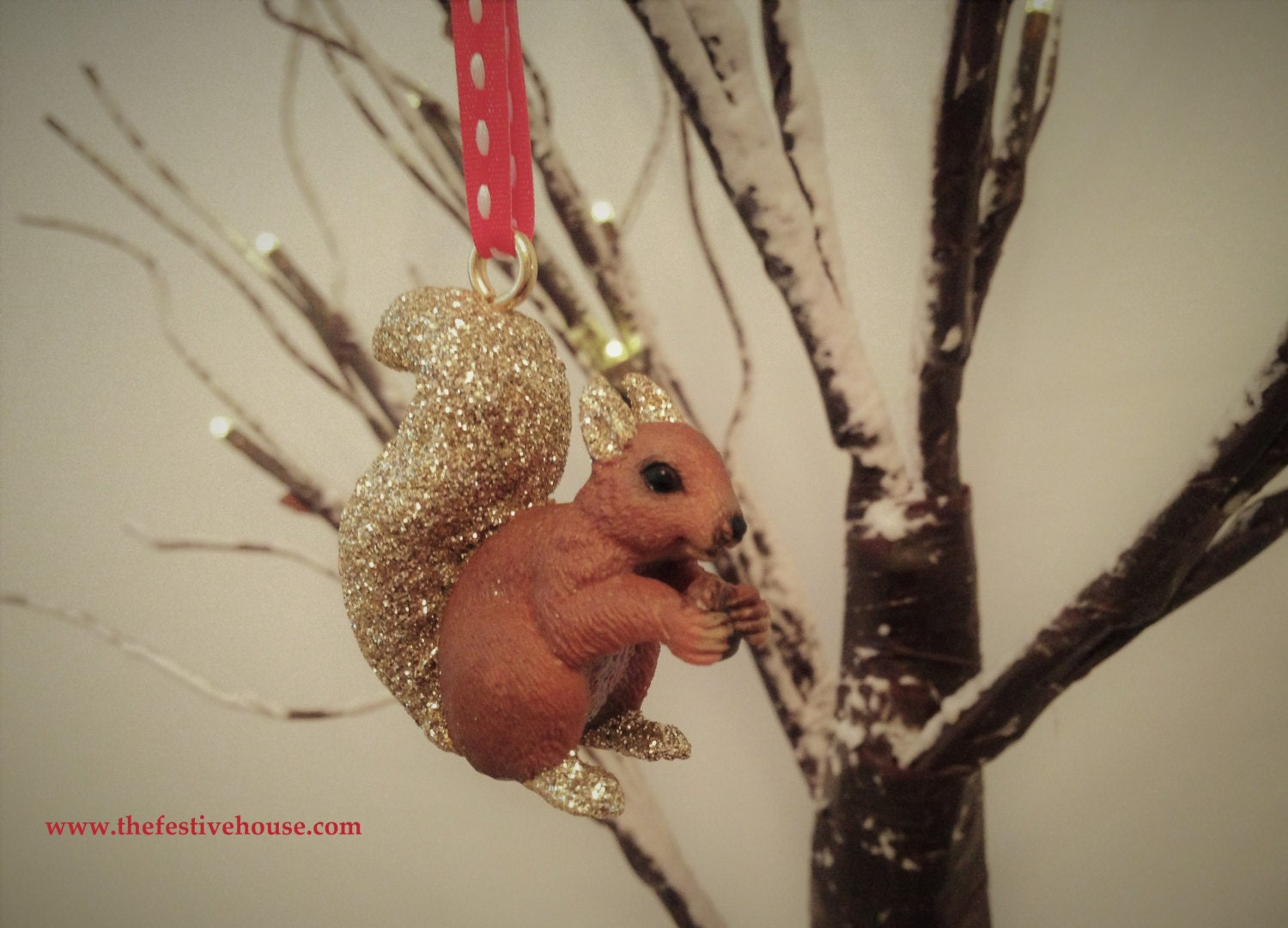 Squirrel Christmas Tree Decoration Animal Tree Decoration Christmas Tree Ornament