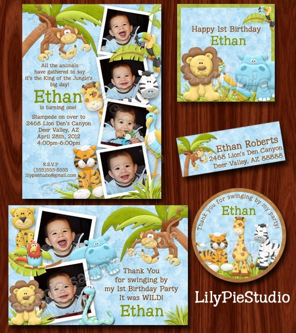 Zoo Themed Birthday Party Invitations Wording Image Inspiration