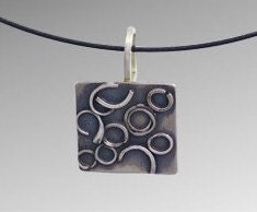Circle and Square Pendant