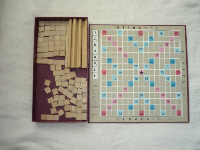 Vintage Scrabble Games 2