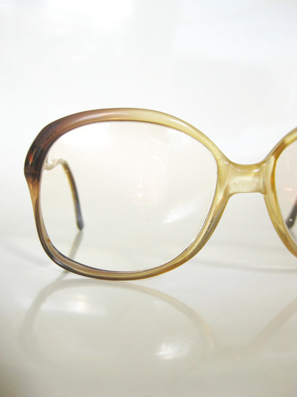 vintage 1970s eyeglasses oversized shuron by