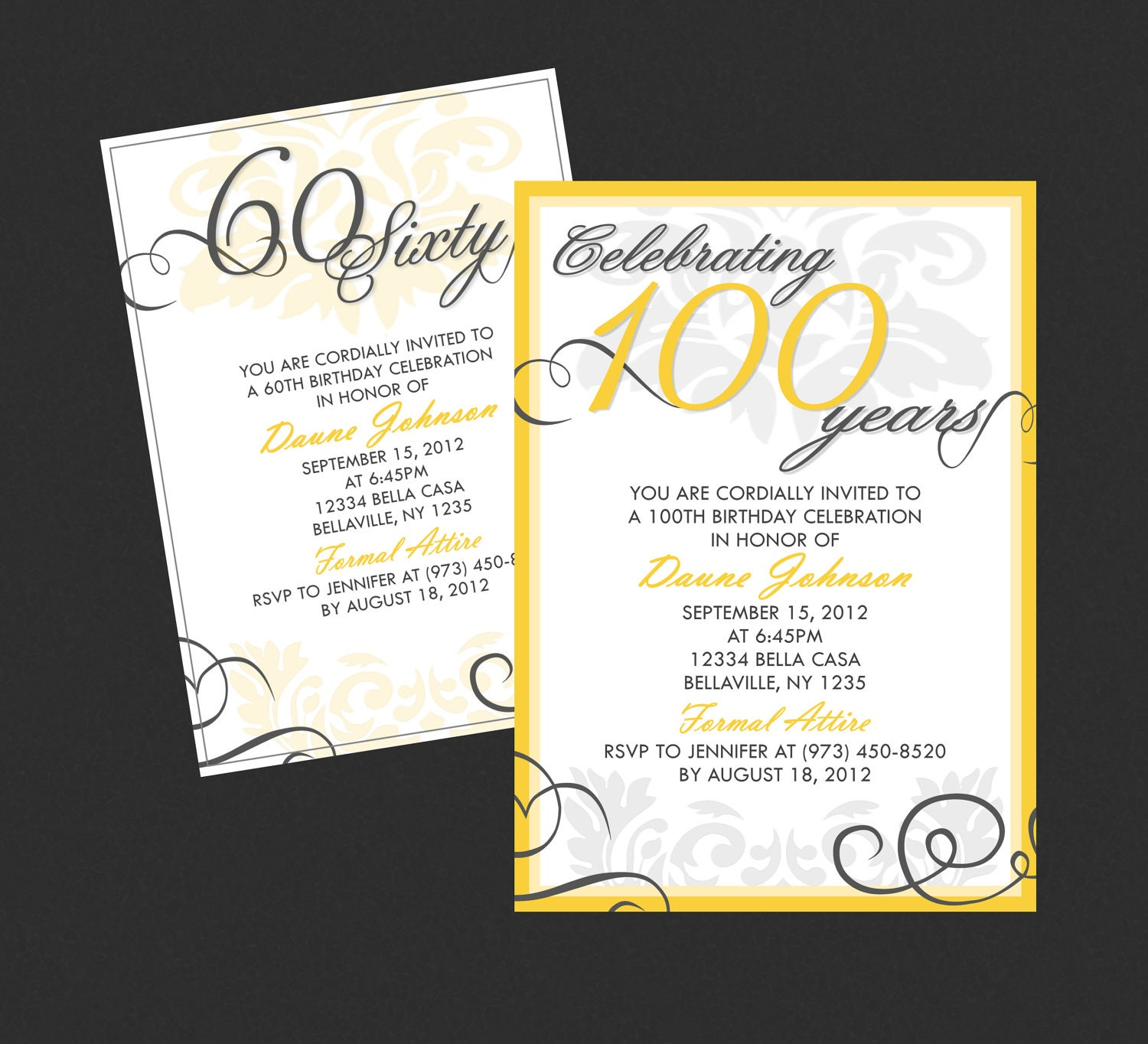 Birthday Invitations For Adults gangcraft