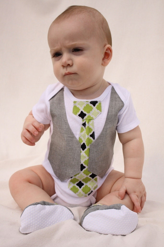 Baby Boy Christmas Shirt And Shoes Christmas Tie By Haddygrace