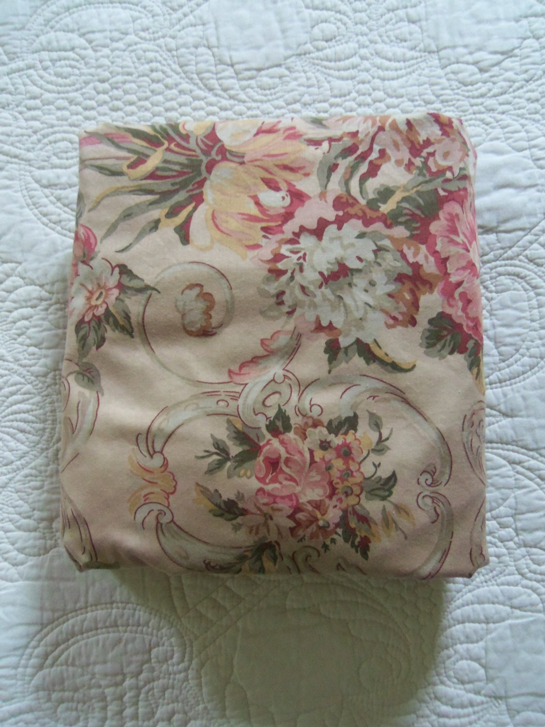 Vintage Ralph Lauren Bedding Guinevere Fitted By