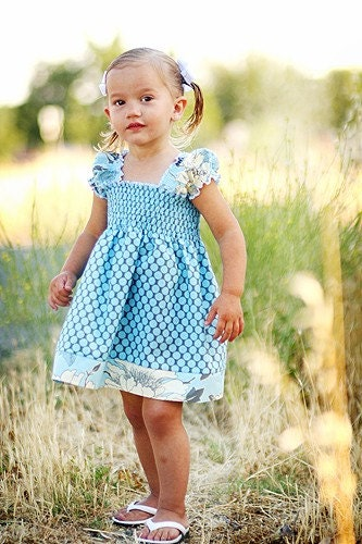 Etsy :: sassybabyboutique :: Sassybaby Ruby Pheasant Style Dress 6M to 6 Years