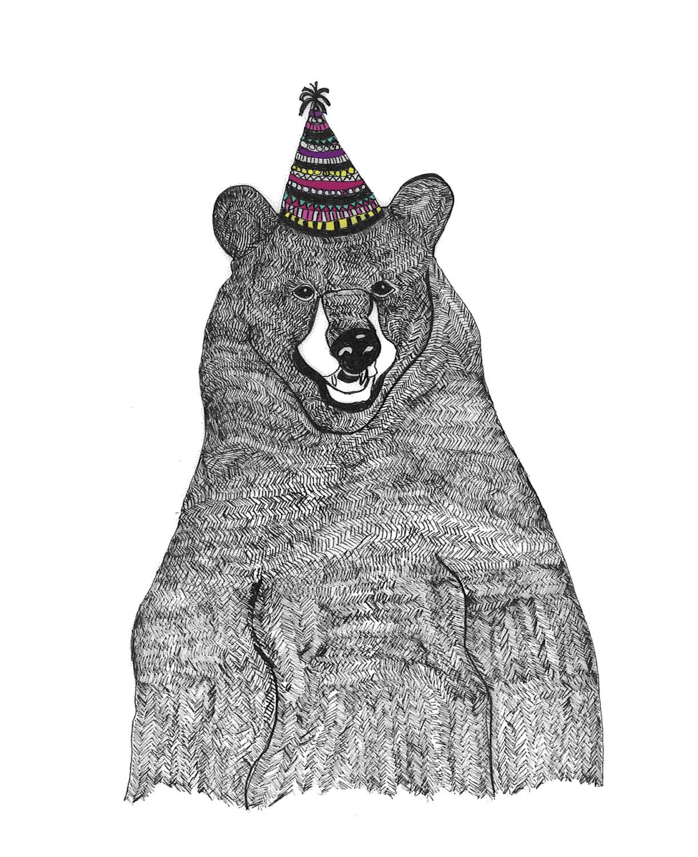 Ma Bicyclette: Buy Handmade   Birthday Cards - Birthday Bear by Fred & Elsie
