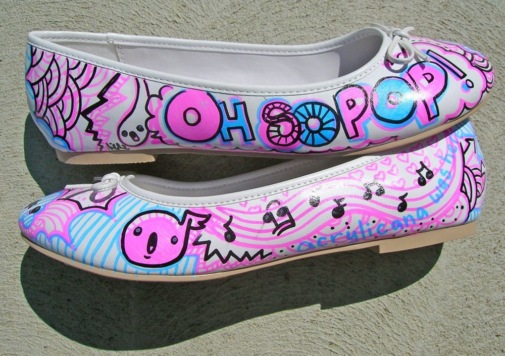 So Pop Shoes - Womens' US 9 UK 6.5 EUR 40