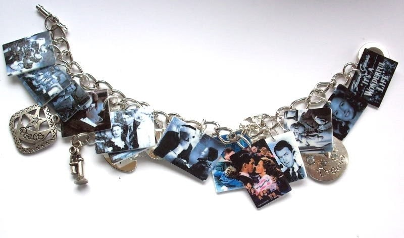 It's a WONDERFUL Life -Christmas-Charm Bracelet,movie