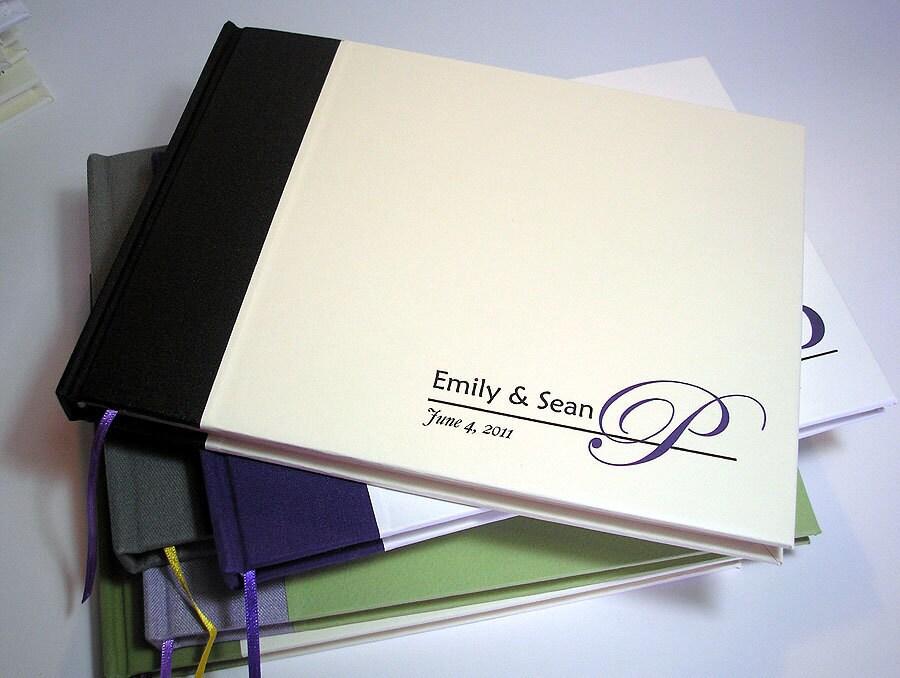 Wedding Guest Book Cover Design : Custom bar bat mitzvah guest book wedding by transientbooks