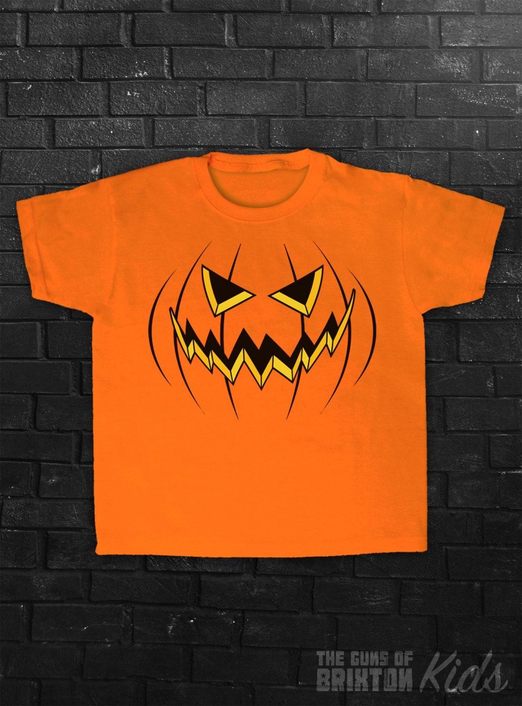 Pumpkin Costume TShirt Halloween Party Funny Silly Joke Jack O Lantern Childrens Kids Boys Girls Babies Baby Tshirt Top Tee Shirt Sizes