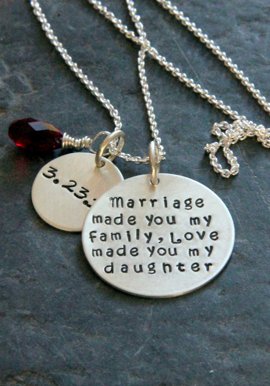 Gift For Daughter In Law Marriage Made You My by whiteliliedesigns