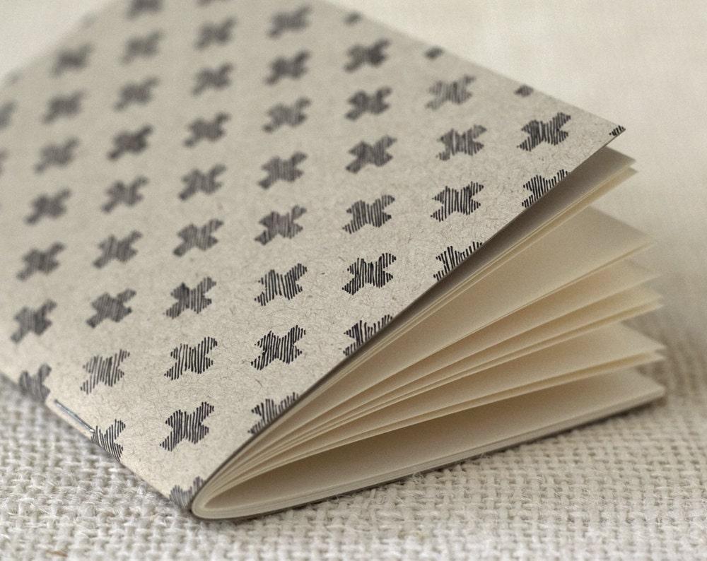 Jotter, Pocket Notebook, Mini Journal - You Plus Me - witandwhistle