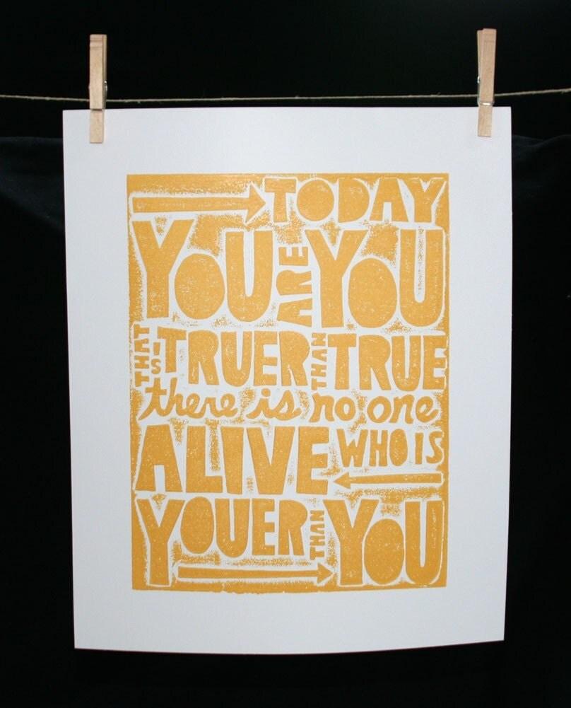 Dr Seuss Quotes Love Quotes On Canvas Original Painting 11x14: Orangie's Attic: March 2011