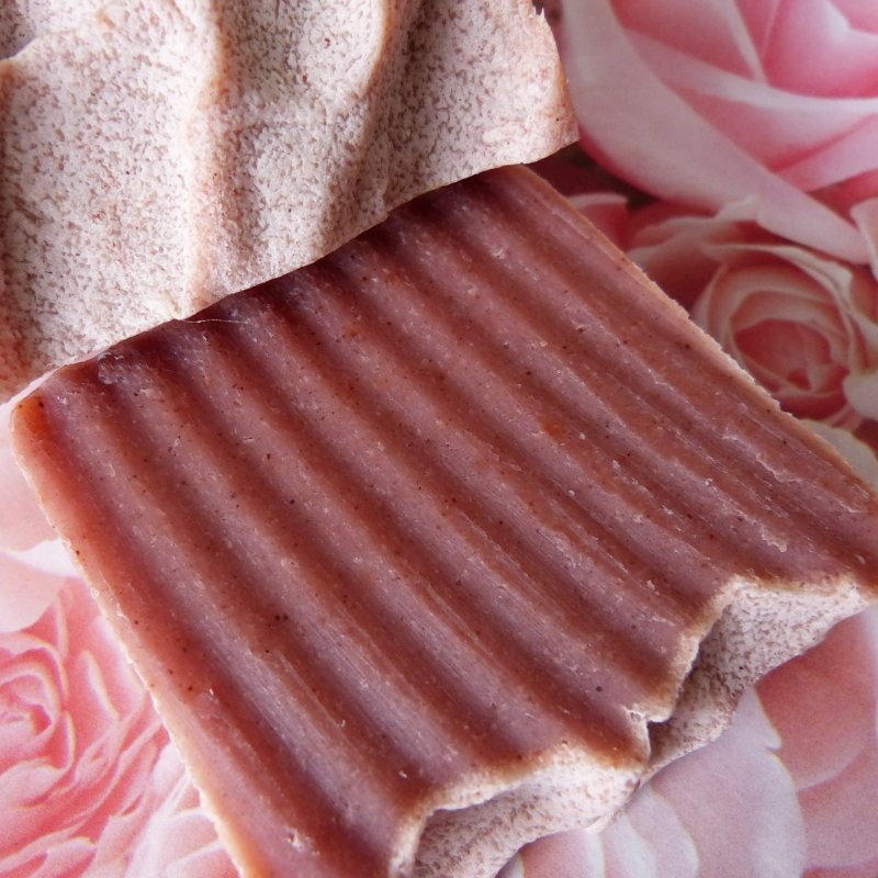 Rose Soap, English Rose, Homemade Soap, Vegan, Natural,