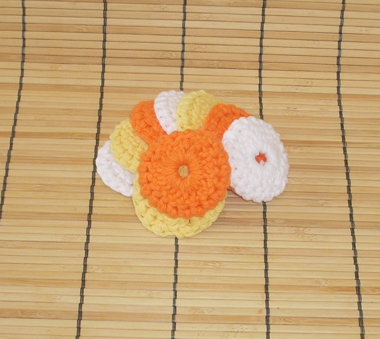 2 Inch Cotton Pads, Cotton Ball Replacements, Set of 9, Lazy Daisy