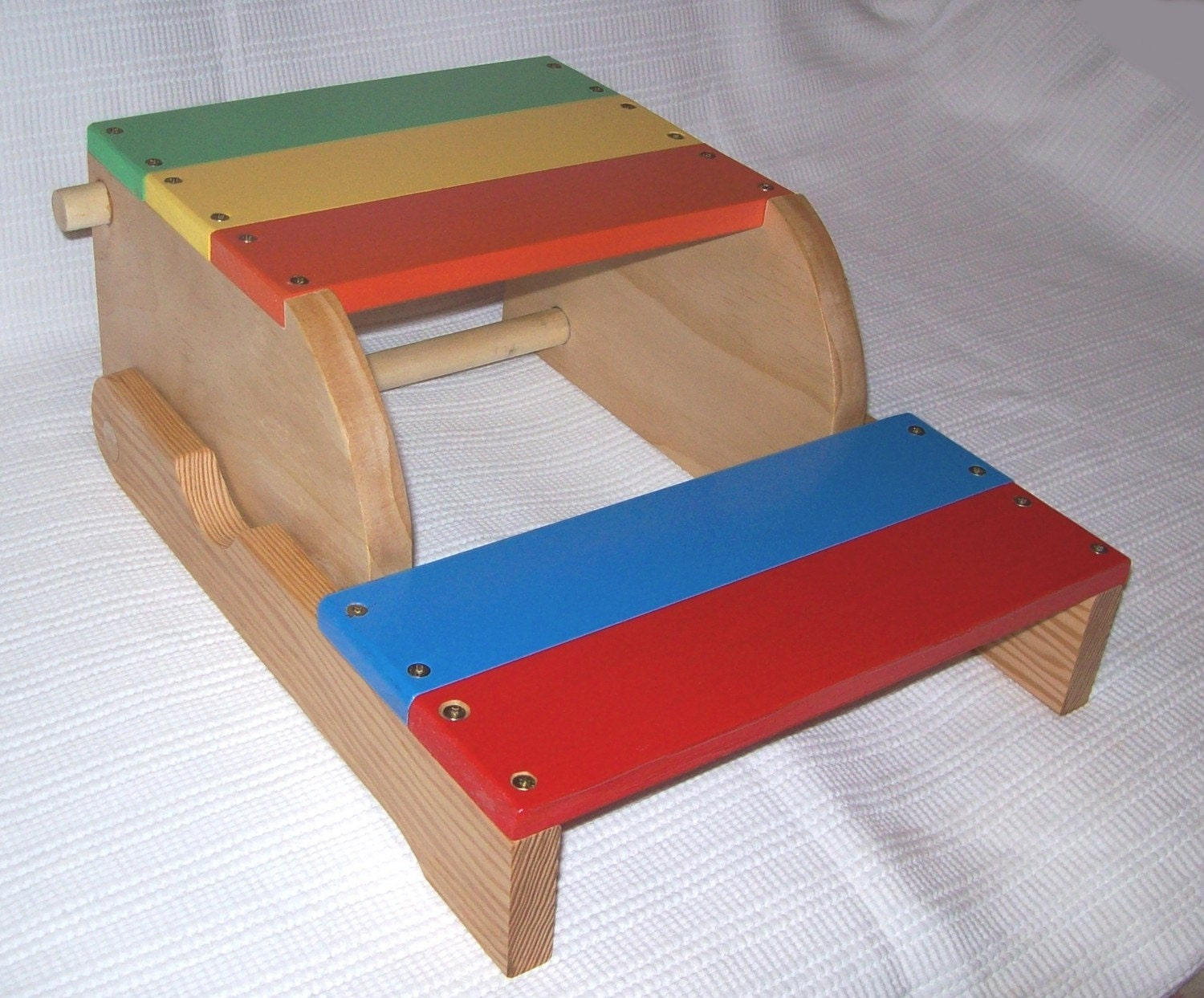 Items similar to child s step stool and chair handmade wood on etsy
