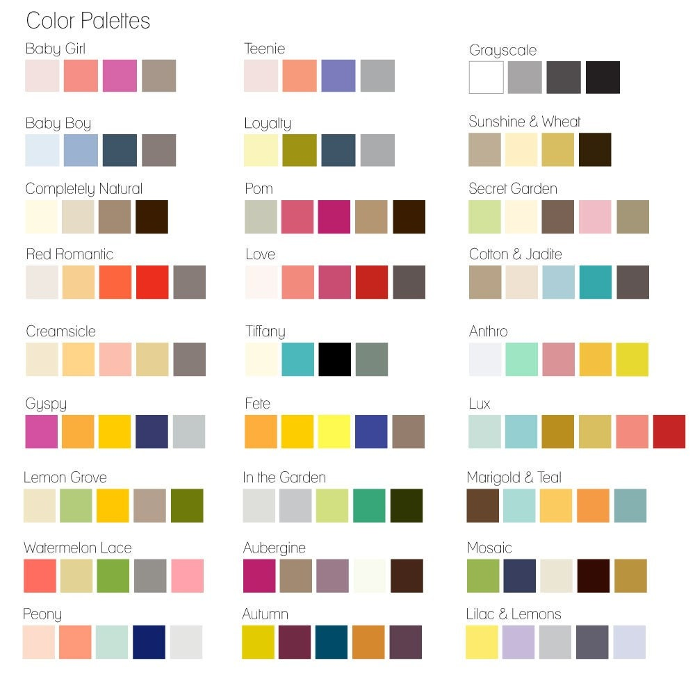 Interior color palette generator best color palette for Home decor color palettes