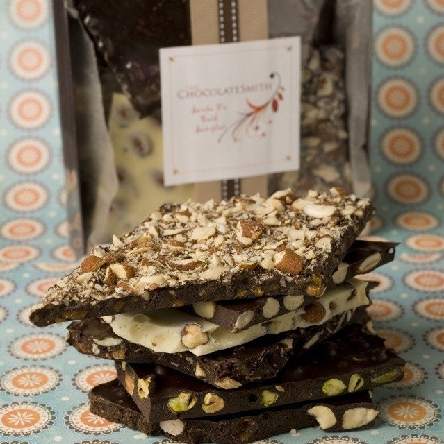 Santa Fe  Artisan Chocolate Bark Sampler