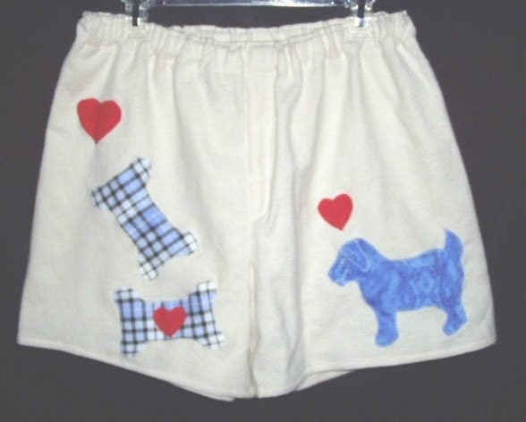 Puppy and Bones Boxer Shorts/ML