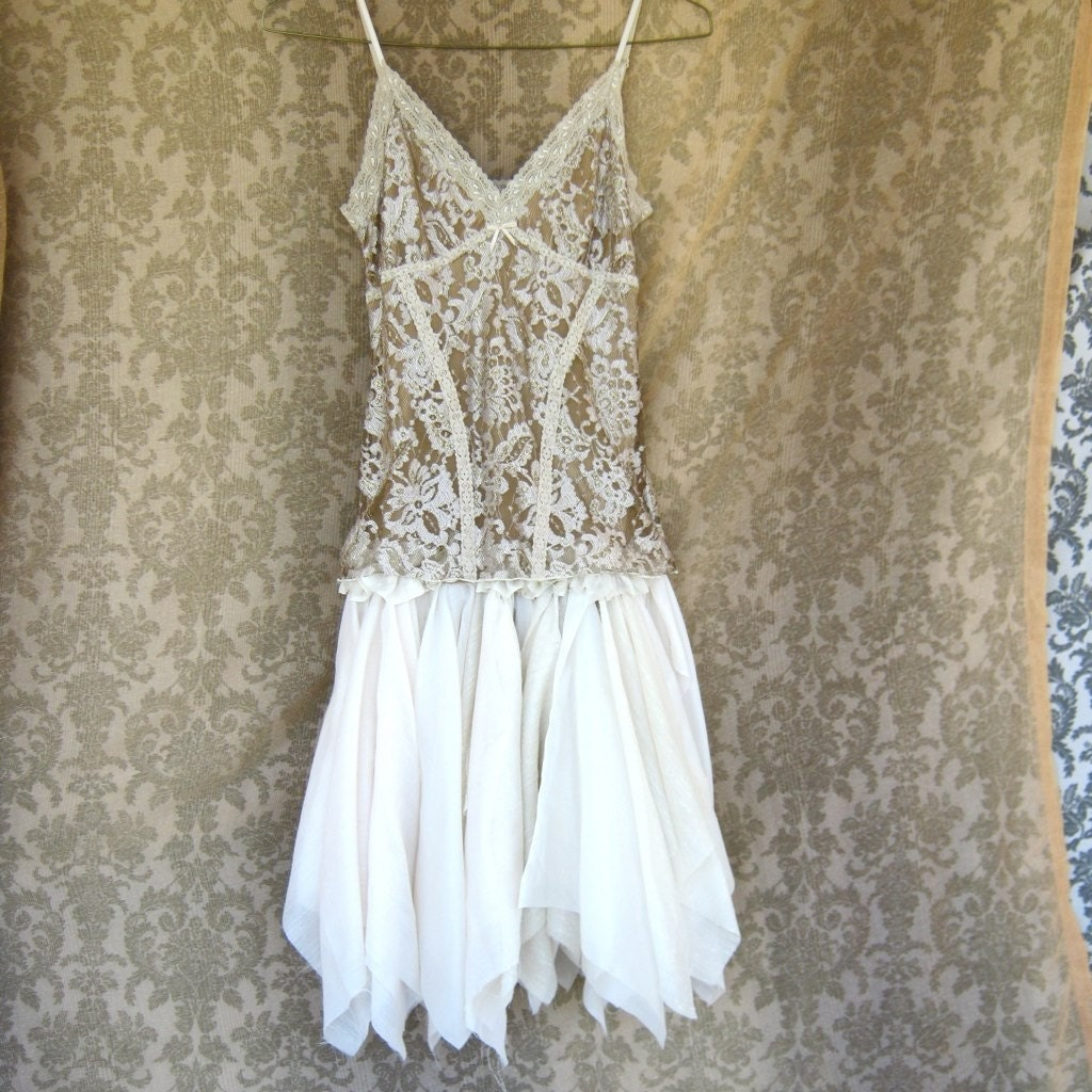 Butterfly Dreams and Fairy Wishes Funky Tattered Mini Dress
