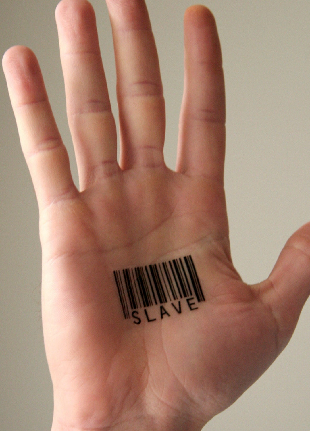 Tattoo Barcode pictures 2010. Temporary Barcode Tattoos
