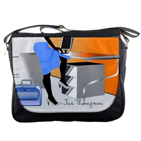 CEO Sistah Personalized Messenger Bag