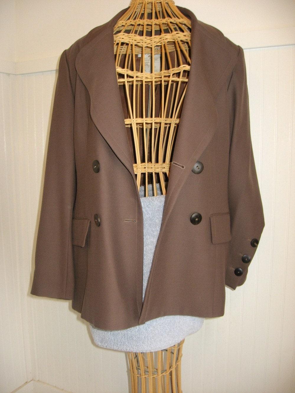 a classic 1980s Lanvin Paris jacket