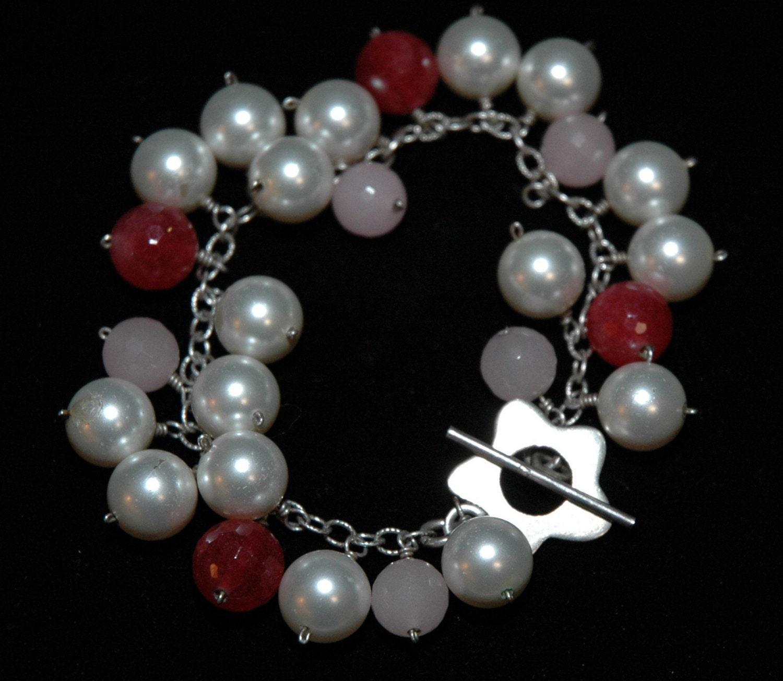 Pearl Bauble Bracelet.