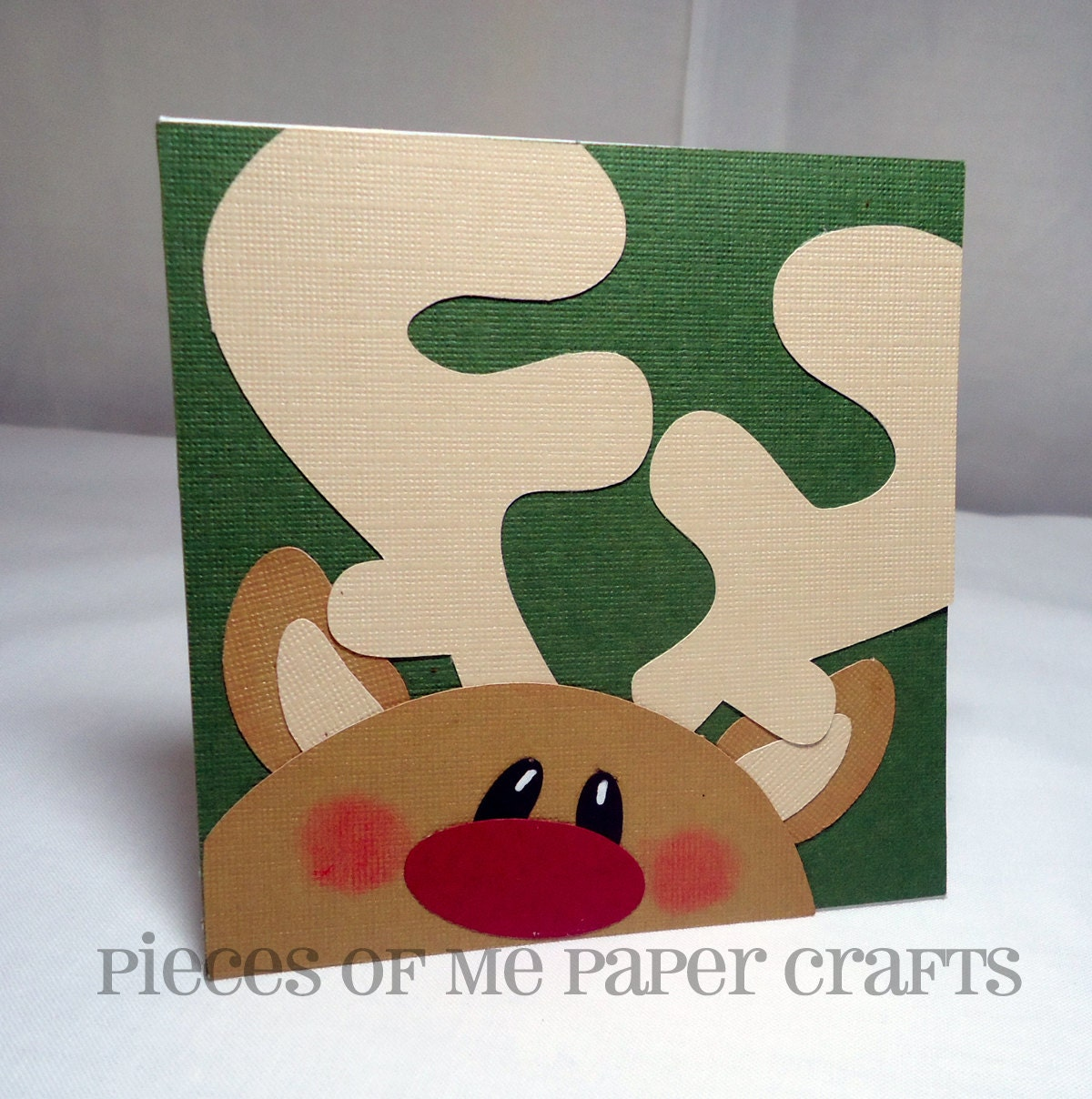 Pieces of me scrapbooking paper crafts winter faces for How to make handmade christmas cards