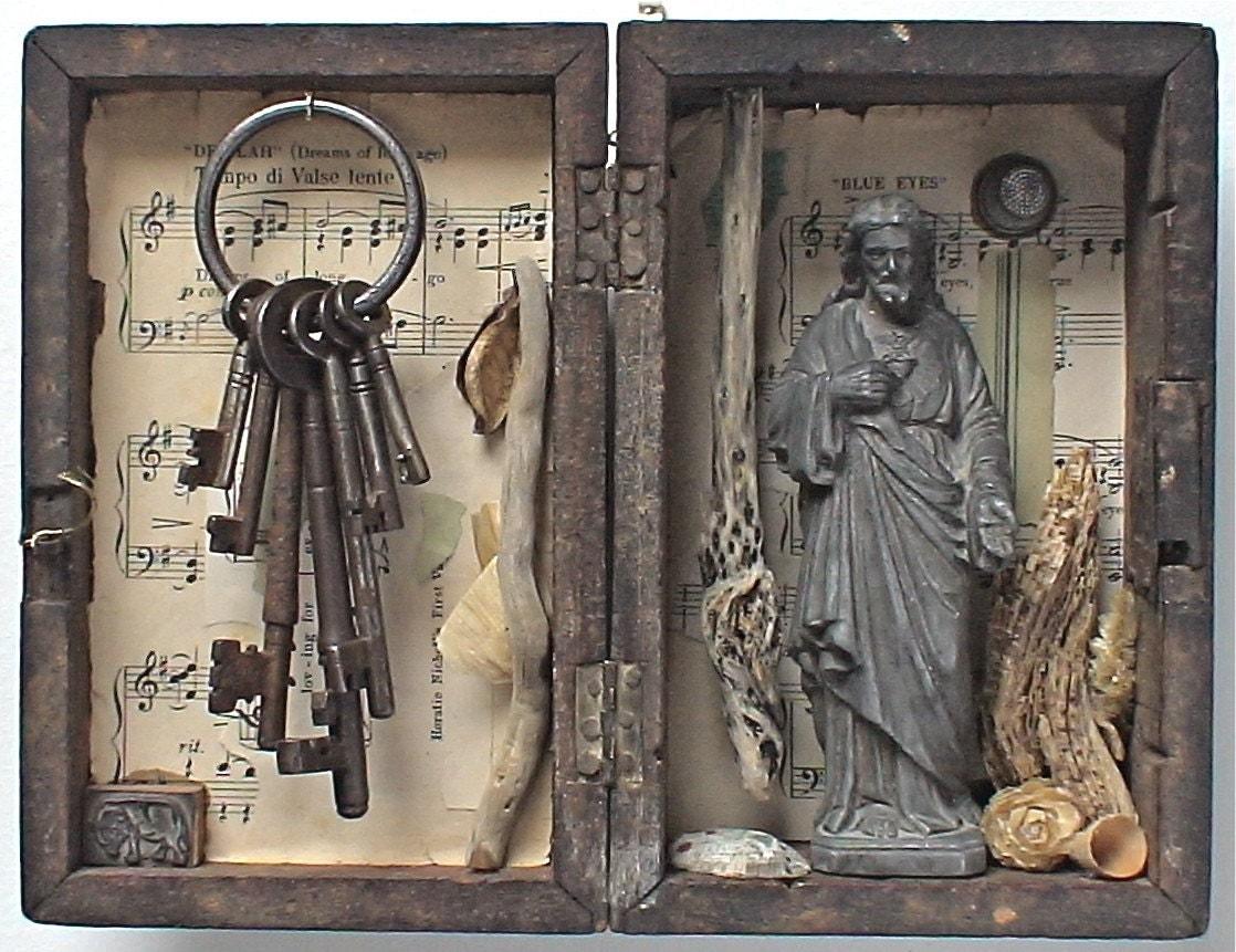 assemblage art - 'gethsemane'