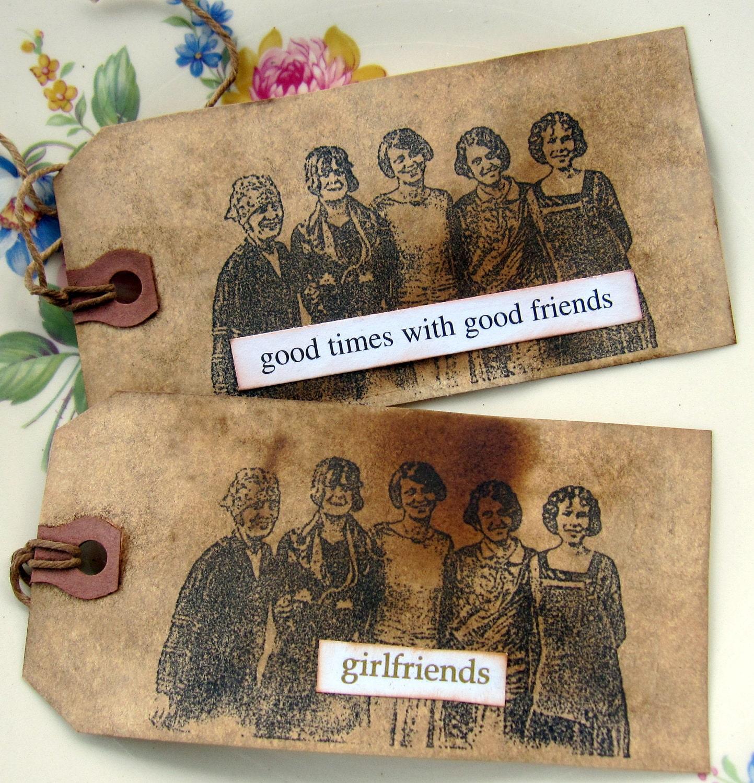 Подруги Теги Примитивные Подарочный Сельский по sweetlibertyprims на Etsy