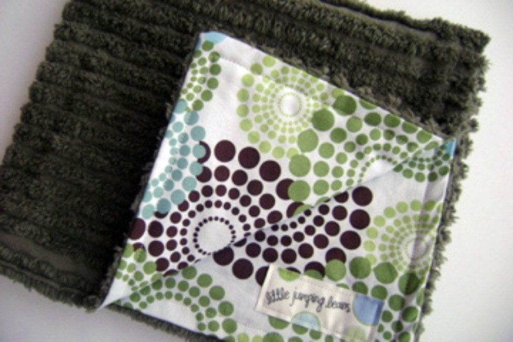 Seeing Spots - Lovey Baby Blanket