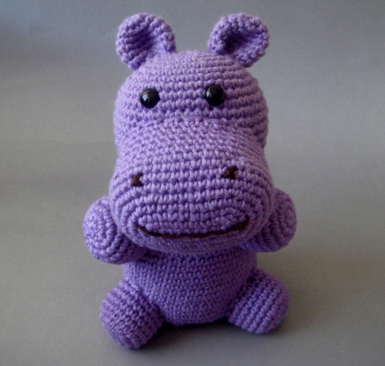 Природные Фиолетовый Бегемот