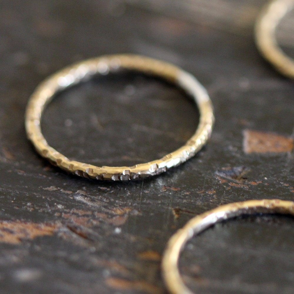 unique wedding ring simple 14k gold ring by praxisjewelry